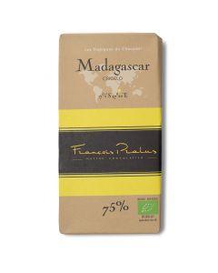 Bio Chocolat Noir 75% - Madagascar Criollo - 100 g