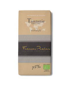 Chocolat Noir Bio 75% - Tanzanie Forastero - 100 g