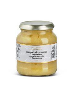 Compote de Pommes en Morceaux - 360 g