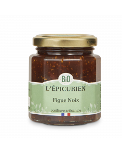 Confiture Bio Figue Noix - 210 g
