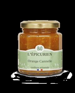 Confiture Bio Orange Cannelle - 210 g