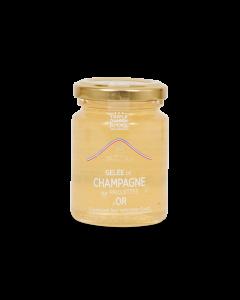 Champagnegelei met Gouden Pailletten - 110 g
