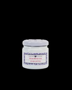 Frambozenconfituur met Viooltjes - 100 g
