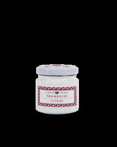 Confiture Framboise Litchi - 100 g