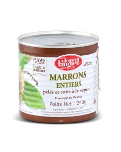 Marrons Entiers - 240 g