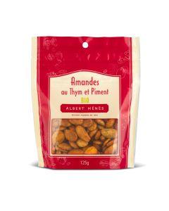 Amandes au Thym et Piment Bio - 125 g