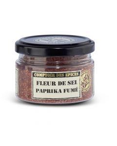 Fleur de Sel met Gerookte Paprika - 80 g
