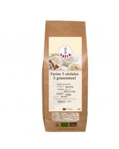 Farine 5 Céréales Bio - 1 Kg