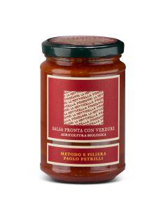 Sauce Tomate Bio aux Légumes - 300 g