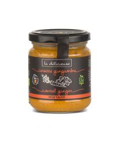 Vege'Sauce Bio Carotte Gingembre - 190 g