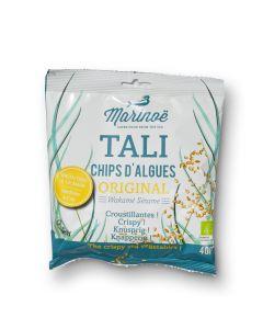 Tali Chips d'Algues Original - Sesame Wakame - 40 g