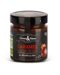 Biologische Smeerpasta Karamel met Zeezout met Melkchocolade - 225 g