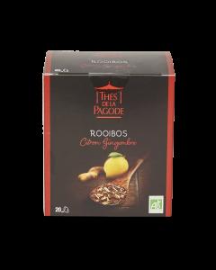 Rooibos Bio Citron Gingembre - 20 sachets