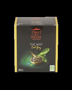 Thé Vert Bio Earl Grey - 20 sachets