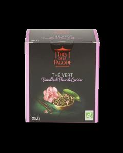 Thé Vert Bio Vanille & Fleur de Cerisier - 20 sachets