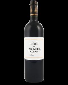 Zédé de Labegorce 2018 Margaux - 75 cl