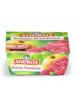 Compote Pomme Framboise - 4 x 100 g