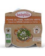 Plat Pommes de terre Haricots Verts et Viande de Dinde - 230 g