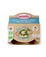 Plat Légumes Verts Truite - 230 g