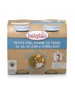 Purée Pommes de Terre, Petits Pois et Cabillaud - 2 x 200 g