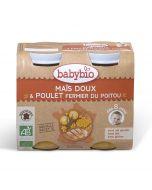 Plat Maïs Doux et Poulet - 2 x 200 g