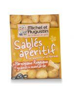 Sablés Apéritif au Parmesan et Graines de Moutarde - 120 g