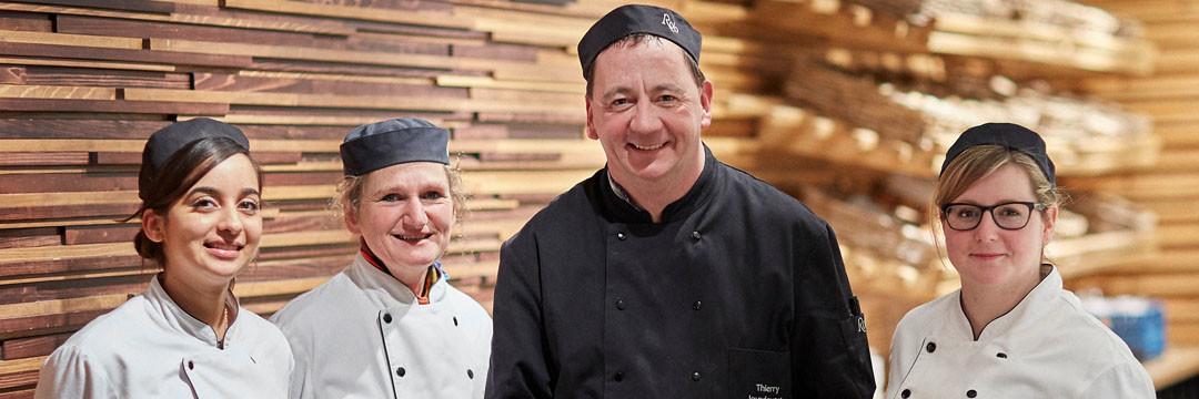 Thierry Jourdevant, chef boulangerie-pâtisserie