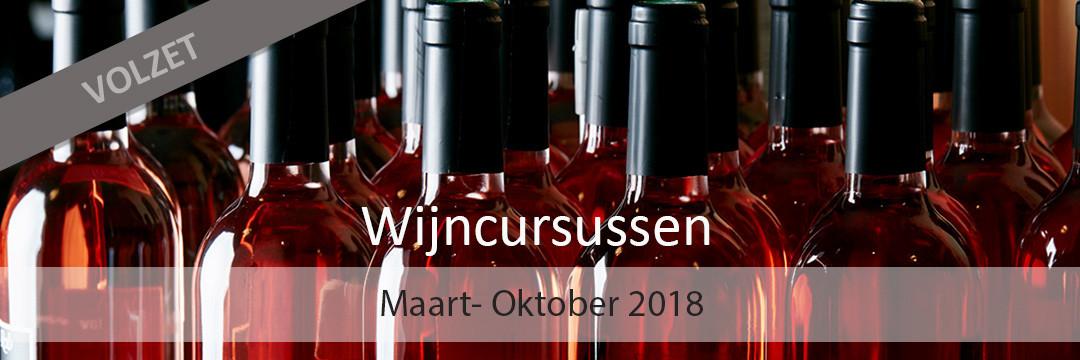 De nieuwe wijncursussen van Rob