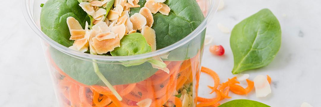Les salades Pack'N Joy: du bon, du beau, du bio... qui fait du bien !
