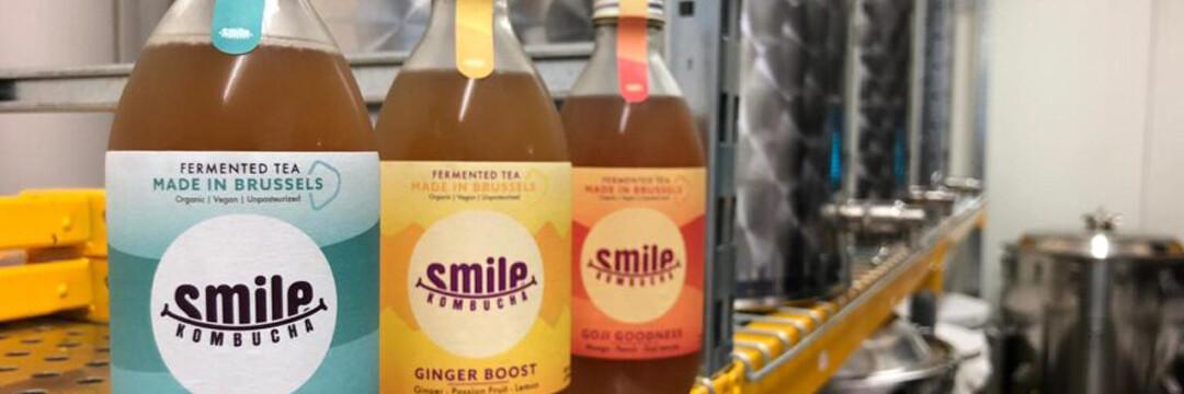 Smile Kombucha : la boisson bruxelloise qui vous veut du bien