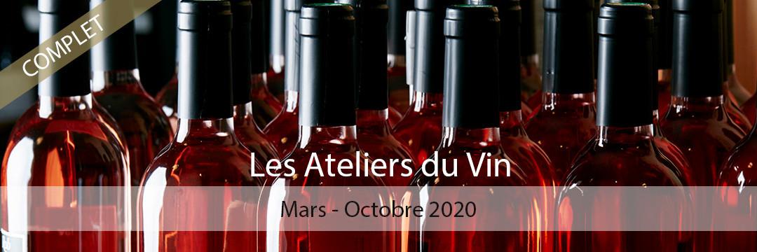 Les Ateliers du Vin - Saison 2020