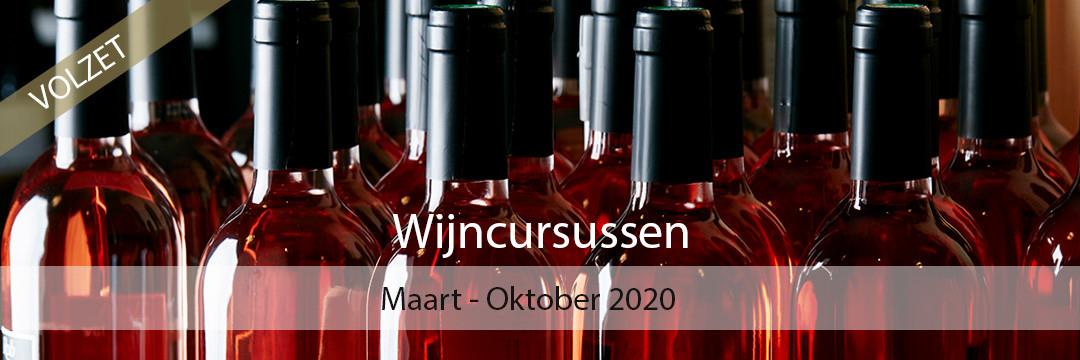 Wijncursussen – Seizoen 2020