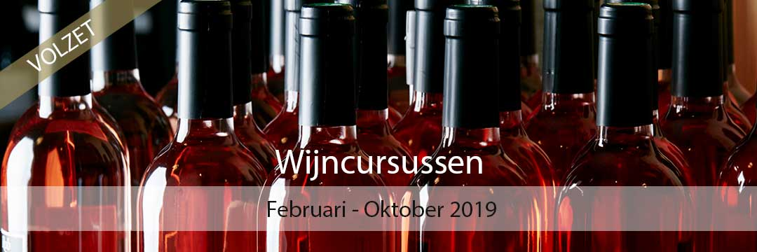 Wijncursussen - Seizoen 2019