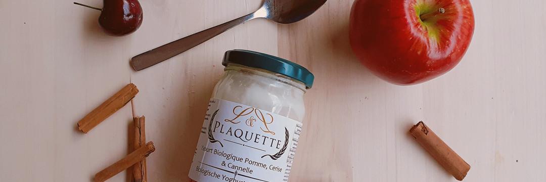 Le yaourt bio selon L&L Plaquette