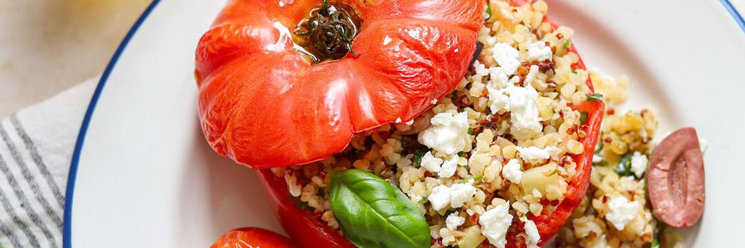 Tomates farcies au quinoa