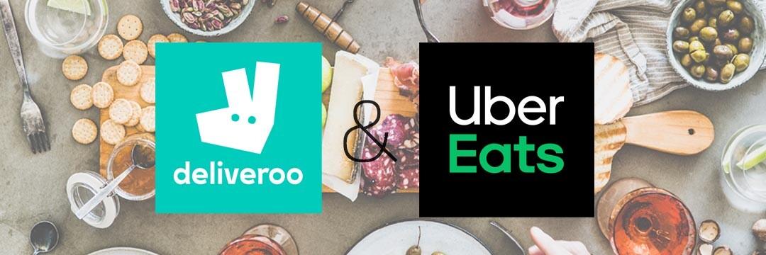 Een fijne selectie van Rob-producten, voortaan nu ook beschikbaar via Uber Eats en Deliveroo