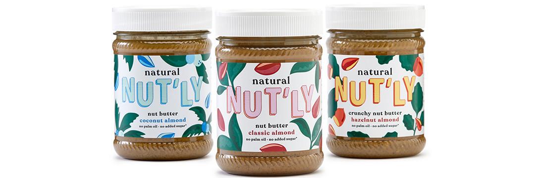 """Natural Nut'ly, des """"nut butters"""" belges et savoureux !"""