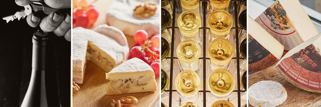 Le fromage et le vin