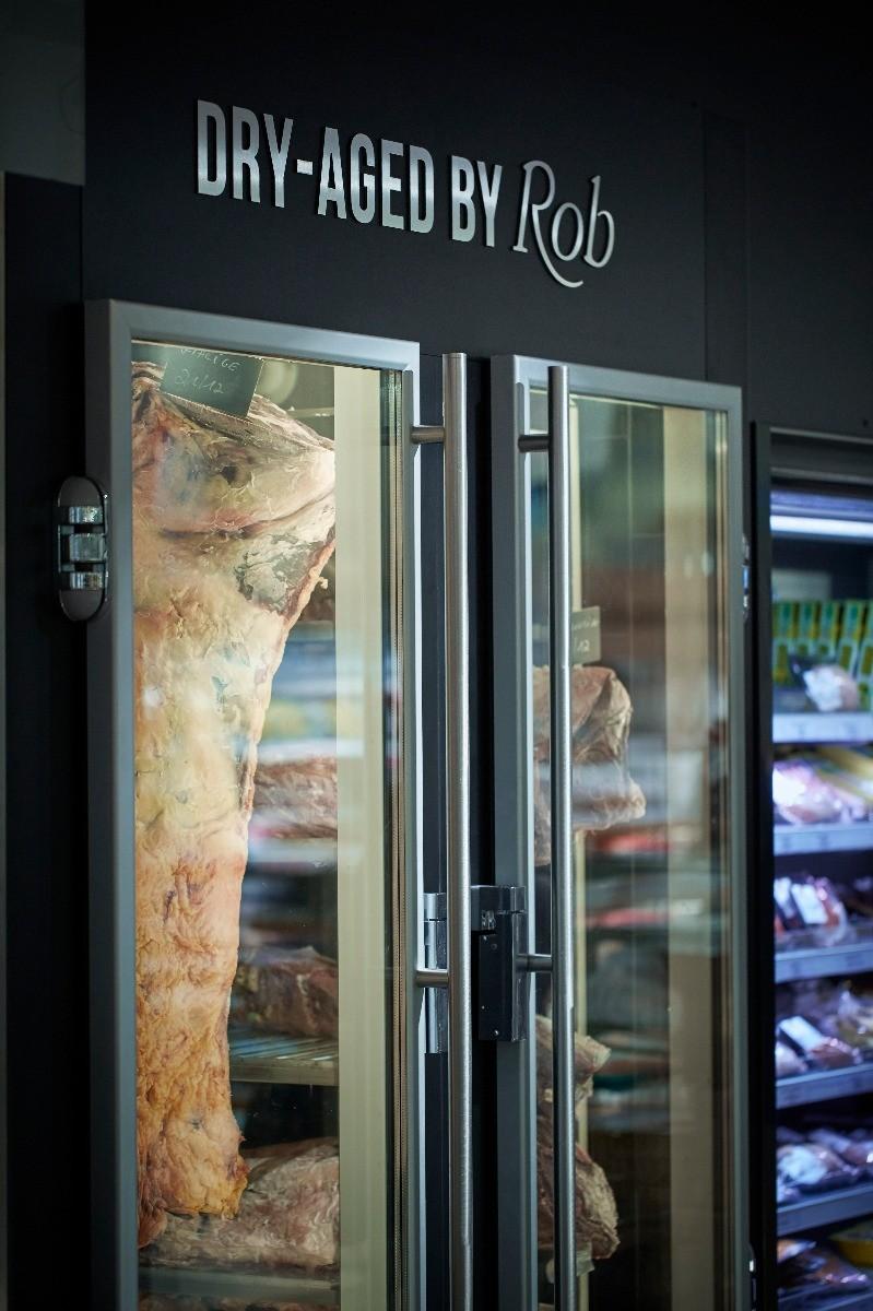 viande en chambre maturation