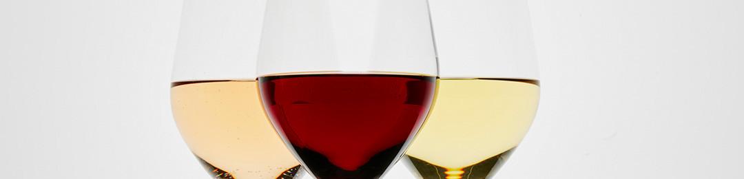 3 verres à vins