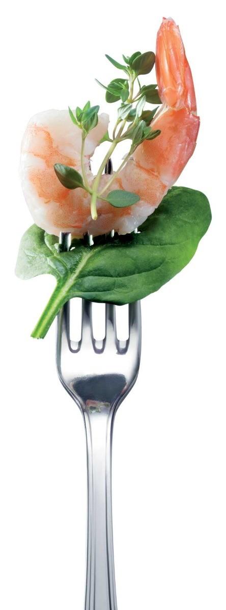 fourchette crevette